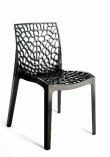 Plastová designová židle - Gruvyer