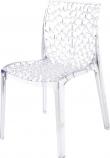 Plastová průhledná židle - Gruvyer - transparente