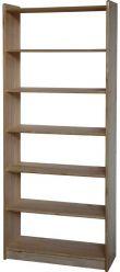 Dřevěná knihovna - 8012
