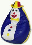 Sedací vak - Clown + dárek doprava ZDARMA