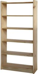 Dřevěná knihovna - 8011