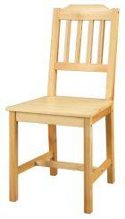 Dřevěná jídelní židle - 866