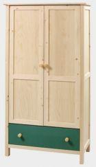 Šatní skříň se zásuvkou - Native č.E0080