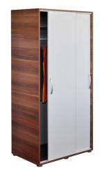 Šatní skříň s posuvnými dveřmi - 65641 ořech/bílá