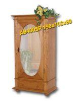 Masivní šatní skříň - AB400SP Louda