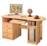 Počítačový stůl masiv - 8843