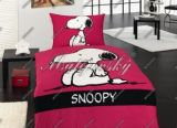 Dětské povlečení - Snoopy Raspberry