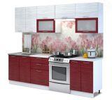 Kuchyňská linka - Valeria 260 red