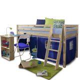 Dřevěná postel se zvýšeným lůžkem - Alzena