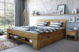 Dubová postel - L602 Tina + doprava zdarma