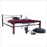 Dvoulůžková postel - Paula + dárek doprava zdarma
