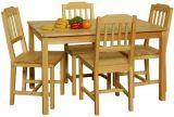 Dřevěná jídelní souprava - 8849