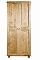 Dřevěná šatní skříň - č.2Z