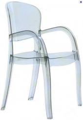 Plastová židle s područkami - Joker