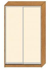 Dvoudvéřová skříň - Maxim MB110LL1
