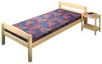 Jednolůžková postel - 801 lak