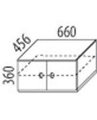 Skříň 2-dvířková - č.D410/S
