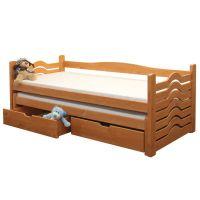 Rozkládací postel s úložným prostorem - Ivanka B431 - matrace v ceně + dárek doprava ZDARMA