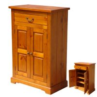 Dřevěný botník - TOL-006