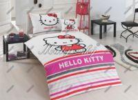Dětské povlečení - Hello Kitty Stripe