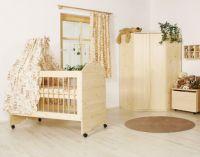 Dětská postýlka (postel) - č.D213/S
