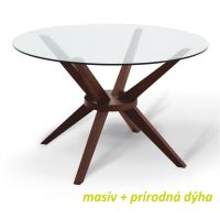 Kulatý jídelní stůl - Glas
