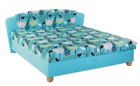 Čalouněná dvoulůžková postel - Salma