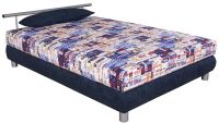 Čalouněná francouzská postel - Adriana