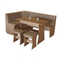 Rohová jídelní lavice - Corner + dárek doprava zdarma