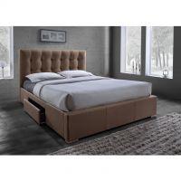 Dvoulůžková postel - Samael + dárek doprava zdarma