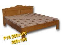 Dvoulůžková postel - P16 Louda