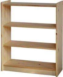 Dřevěná knihovna - 8010