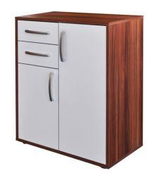 Prádelník - 61504 ořech/bílá