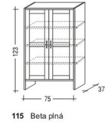 Beta plná - Sunny č.115