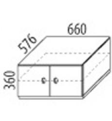 Skříň 2-dvířková - č.D501/S