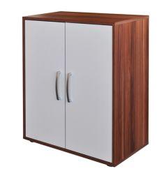 Prádelník - 61501 ořech/bílá