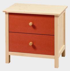 Komoda - noční stolek - Native II. - malá č.E0094