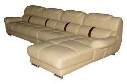 Kožená rohová sedací souprava - A102