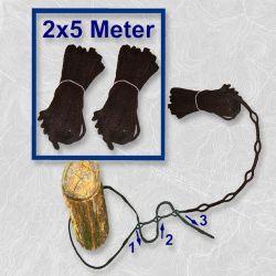 Upevňovací lano na houpací sítě - 123 Seil