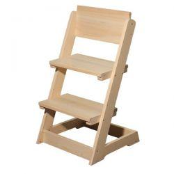 Židle dětská polohovací celodřevěná - B163
