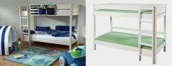 Etážová postel - palanda - Keyly bílá č.B0383