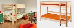 Etážová postel - palanda - Keyly přírodní č.B0384