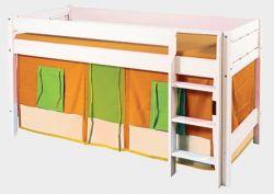 Domeček - Sendy č.407 oranžovo-zelený