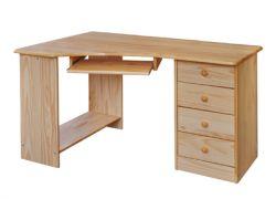 Rohový stůl počítačový - 8846