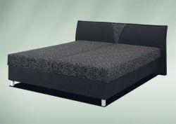 Čalouněná dvoulůžková postel - Linda
