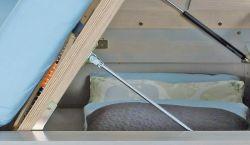 Kování k posteli s bočním výklopem - č.M167