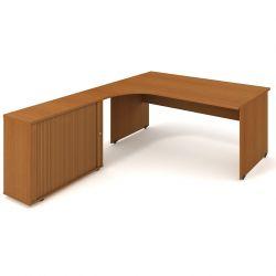Pracovní rohový stůl - Gate GE1800HR (GEV1800HR) Hobis