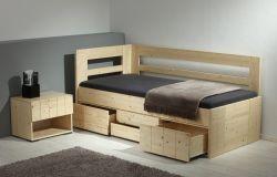 Noční stolek - Hanny č.C0561 (C0561W)