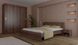 Dvoulůžková postel - Eden P1601 (P1801)