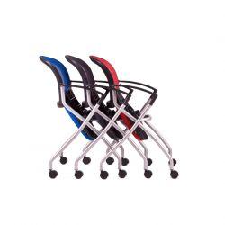 Jednací židle na kolečkách - Metis